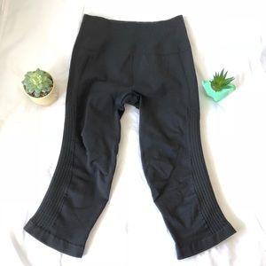 Lululemon Athletica Black Crop Leggings